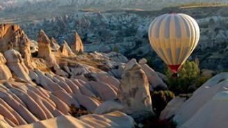 Kapadokya'yı ziyaret eden turist sayısı arttı
