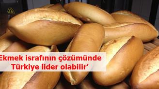 'Ekmek israfının çözümünde Türkiye lider olabilir'