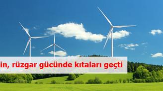 Çin, rüzgar enerjisinde geçen yılın lideri oldu