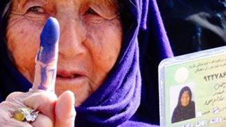 Afganistan'da seçime katılım yüksek
