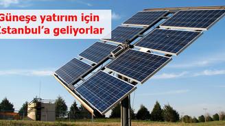 Güneşe yatırım için İstanbul'a geliyorlar