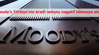 Moodys, Türkiye'nin 'görünümünü' düşürdü