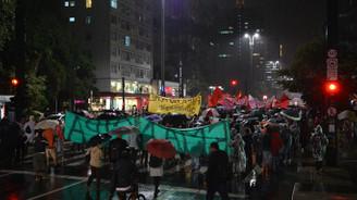 Brezilya'da Dünya Kupası karşıtı gösteri