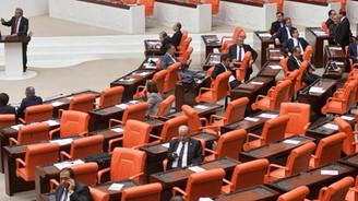 Meclis'te Kamer Genç protestosu