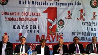 Hak-İş, 1 Mayıs'ı Kayseri'de kutlayacak
