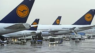 Lufthansa'da 4 bin pilot grevde
