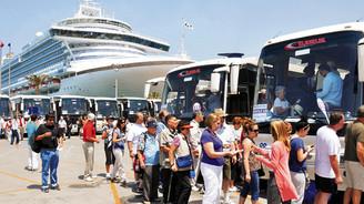 Yabancı turist sayısı yüzde 5,5 arttı
