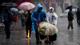 Yurt genelinde sağanak yağış bekleniyor