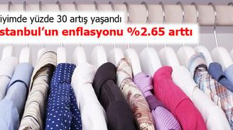 İstanbul'un enflasyonu yüzde 2.65 arttı
