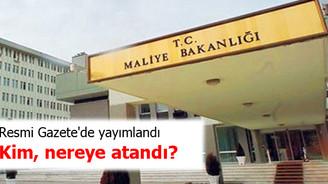 Kamudaki atamalar Resmi Gazete'de yayımlandı