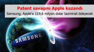 Patent savaşını Apple kazandı