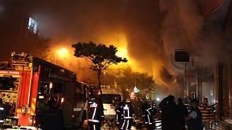 Fas'ta alışveriş merkezinde yangın