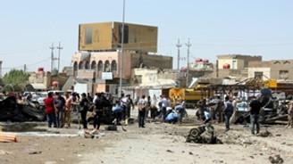 Bağdat'ta intihar saldırısı: 10 ölü, 13 yaralı