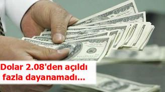 Dolar/TL 2.06'lara geriledi