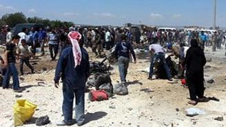 Suriye'de bomba yüklü araç infilak etti