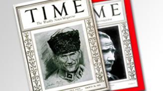 Time, Atatürk'ü kapak yaptı