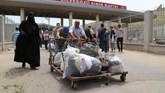 Suriye'den kaçışlar ramazanda arttı