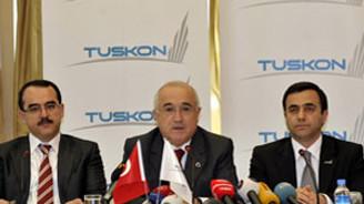 TUSKON, hükümetin yanında