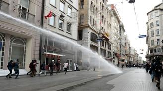Gezi'nin yıldönümünde müdahale sürdü
