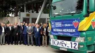Çilek'ten Bosnalı çocuklara yardım eli