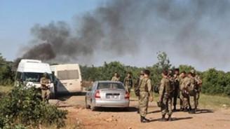 Lice'de 5 asker yaralandı