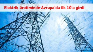 EÜAŞ elektrik üretiminde Avrupa'da ilk 10'a girdi