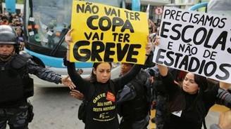 Brezilya'da açılış maçı tehlikede