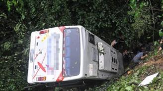 Hindistan'da otobüs kazası: 13 ölü