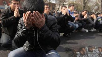 Kırgızistan'da 3 gün yas ilan edildi