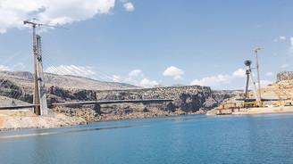 Anadolu'nun ilk asma köprüsü Adıyaman'a kuruluyor
