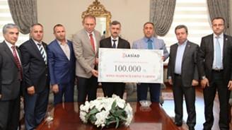 LASİAD, Soma için 100 bin lira topladı