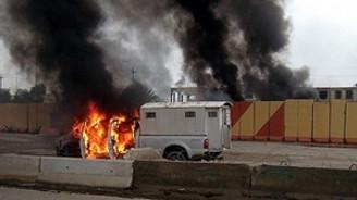 Irak'ta istihbarat binasına bombalı saldırı