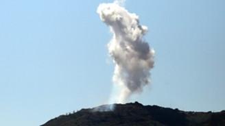 Türkmen köylerine hava saldırısı