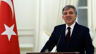 Cumhurbaşkanı Gül veda etti