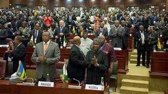 Afrika Zirvesi'nde terörle ortak mücadele vurgusu