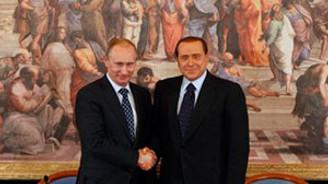 """Berlusconi-Putin """"Güney Akım""""ı konuştu"""