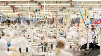 İmalatta çalışan kişi başına üretim arttı