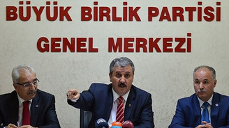 BBP, İhsanoğlu'nu destekleme kararı aldı