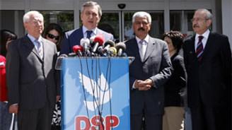 CHP ve DSP, Anayasa değişikliğini mahkemeye birlikte taşıyacak