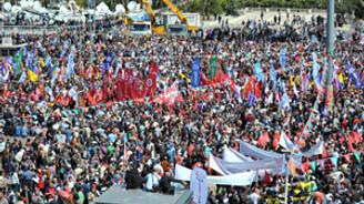KESK, 1 Mayıs'ı değerlendirdi: Hak verilmez, alınır