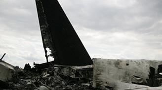 Ukrayna'da savaş uçağı düşürdüler!