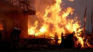 Hatay'da yangın faciası: 3 Suriyeli çocuk öldü