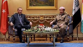 Mesut Barzani'den, Erdoğan'a tebrik mesajı