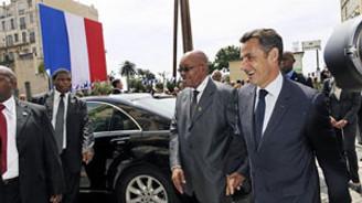 Fransa-Afrika zirvesi başladı