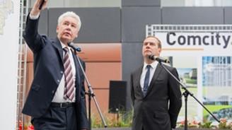 Medvedev, Rönesans'ın Comcity projesini ziyaret etti