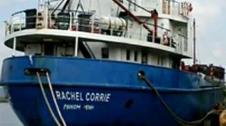 'Rachel Corrie' ile irtibat kesildi