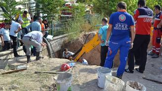 Tarım Bakanlığı'nın bina inşaatında göçük: 1 ölü