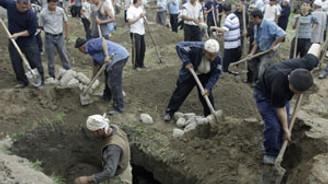 Kırgızistan'da ölü sayısı 117'ye çıktı
