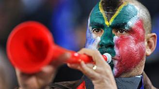Vuvuzela yasaklanabilir