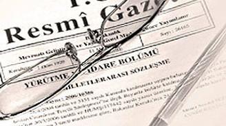 20 kanun Resmi Gazete'de